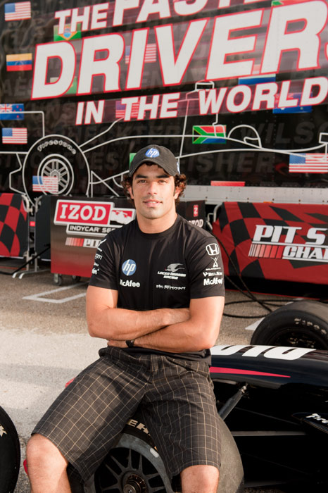 The Brazilian was the 2009 IndyCar Series Rookie of the Year.