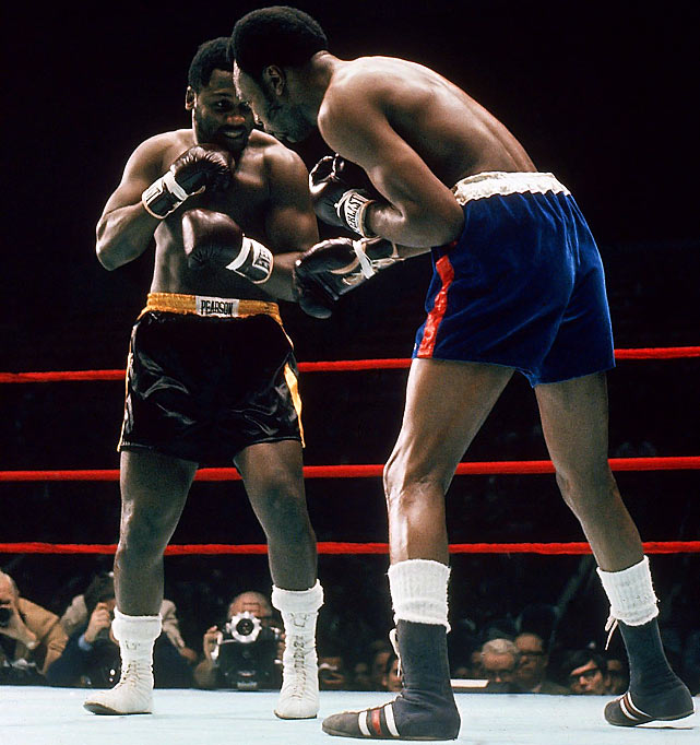 Frazier made his first defense against light heavyweight champion Bob Foster, knocking out the future Hall of Famer with a punishing left hook in the second round.