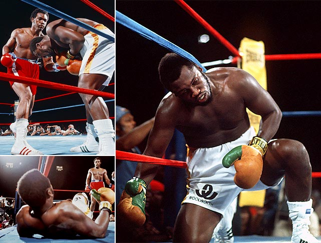 Frazier made two more title defenses before meeting George Foreman before 36,000 fans in Kingston, Jamaica. Despite the 3-to-1 odds in his favor, Frazier was floored six times in two rounds before referee Arthur Mercante stopped it at 1:35 of the second.