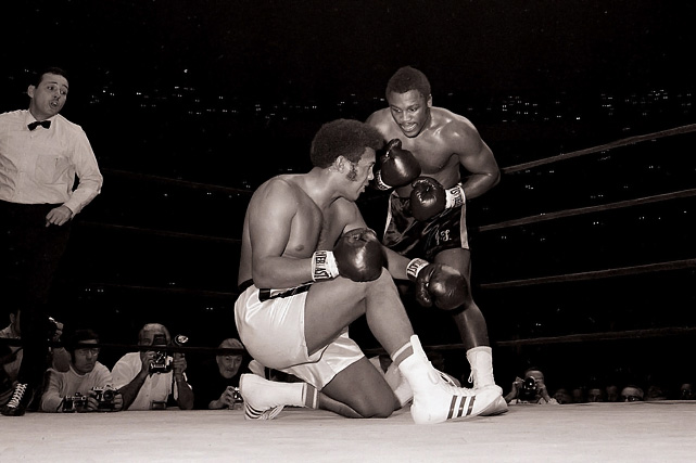 Frazier unified the fractured titles when WBA champion Jimmy Ellis -- having suffered the first two knockdowns of his career in the fourth round -- couldn't answer the bell for the fifth. Despite Frazier's convincing victory, many still recognized Muhammad Ali as the true champion since the exiled fighter hadn't lost his title in the ring.