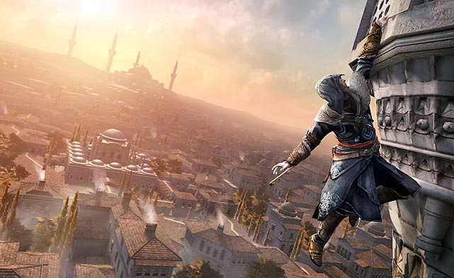 "Assassin's Creed Revelations is the fourth entry in the fascinatingly weird time-travel parkour/murder simulation series, and, if you've followed the series this far, you'll probably be thrilled. The broad plot of the game, that you're a modern-day man living out the experiences of your assassin ancestors through a machine that lets you replay genetic memories from your DNA (and that's the simplified version of the plot) plays like a fascinatingly high-concept mix between The Matrix, Inception and Batman: Arkham City. The game's fighting is as fluid as ever, with some new wrinkles including a ""hookblade"" that lets you grab enemies like Mortal Kombat's Scorpion, an occasional tower defense minigame and even some first-person sections. The multiplayer, which was a hugely entertaining, strategically-challenging alternative to common multiplayer modes in First Person Shooters, is back with more player customization options and modes. There's not a lot that's genuinely new in Assassin's Creed Revelations, but it's really a game meant for existing fans of the series, and they'll definitely be happy to see the continuation of the story. Newcomers would be best served with starting earlier in the series.  Score: 8 out of 10"
