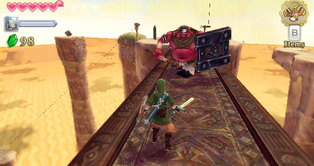 The 16th entry in Nintendo's beloved action-adventure franchise is already being hailed as an all-time classic, having made greater strides forward than any installment in the series since Ocarina of Time for Nintendo 64. A brilliantly wrought and engrossing origin story that delves deep into the mythology of Hyrule and the principal characters gamers have come to love over the past 25 years, the intuitive motion-based swordplay is what really sets Skyward Sword apart. The Wii MotionPlus peripheral renders true 1:1 representation of your real-life movements with the in-game sword -- with different monsters requiring different methods of attack. Epic in scope and intimate in detail, The Legend of Zelda: Skyward Sword lives up to the hype as the greatest Zelda adventure yet.  Score: 10 out of 10