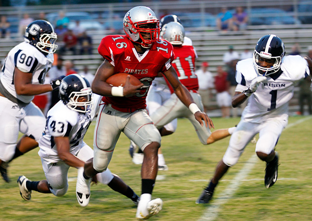 Previous rank:  NR  Last game:  41-27 win over Mallard Creek (N.C.)  Next game:  Dec. 2 vs. Garner Magnet (N.C.)   All records through Nov. 30, 2011