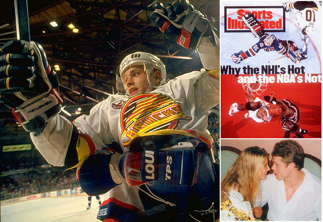 The Russian Rocket will be remembered as one of the fastest skaters in NHL history. Bure led the Canucks to the 1994 Stanley Cup Finals as a No. 7 seed, scoring 16 goals and 31 points in 24 games. Bure also dated Anna Kournikova when he was 28 and she was 18.