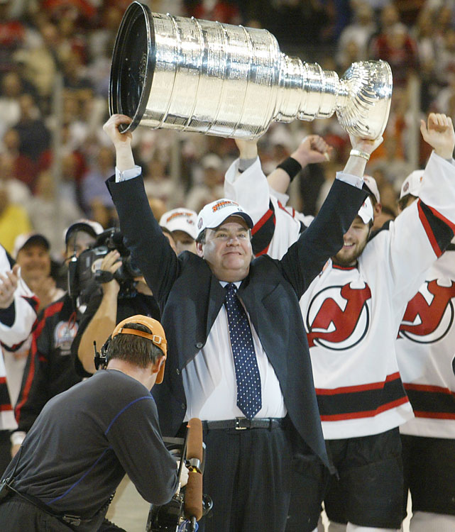 Burns had some of the most pressurized coaching jobs in the league -- Montreal, Toronto, Boston and New Jersey -- and lifted the Cup with the Devils in 2003. Burns, who died of colon cancer in 2010, won 501 games over 14 seasons.