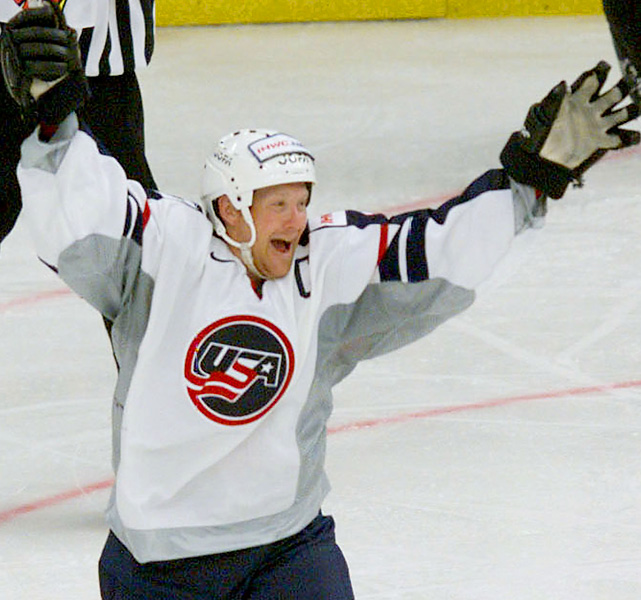 Housley retired in 2003 with the most games played by an American (1,495) and most points by an American (1,232). He no longer holds either record, but Housley certainly made his mark playing for eight teams in 21 seasons. He also played in the 2002 Olympics and six world championships for Team USA.