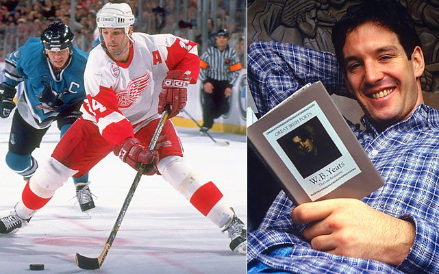 The NHL's disciplinarian played 21 seasons, scattering his time among the Devils, Blues, Whalers, Red Wings and Rangers. He is the only player to rank in the top 25 alltime in both points (1,354) and penalty minutes (2,489).