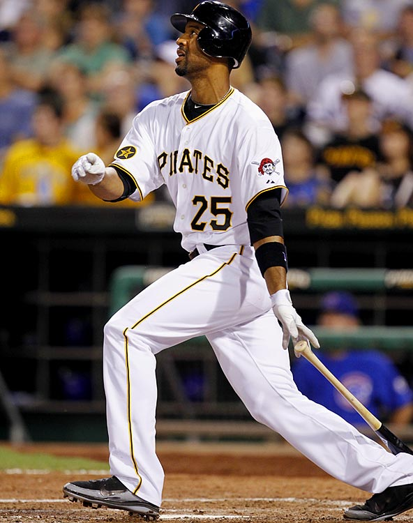 CURRENT TEAM:  PIRATES  BEST FIT:  TWINS   A broken wrist limited Lee to 113 games played in a season he split between Baltimore and Pittsburgh, but after he returned from the injury he showed that he can still hit, batting .337 with seven home runs and 18 RBIs in 28 games as a Pirates. The Twins need someone who can DH and provide an acceptable back-up to Justin Morneau should Morneau's injury woes persist, and that player could be Lee.