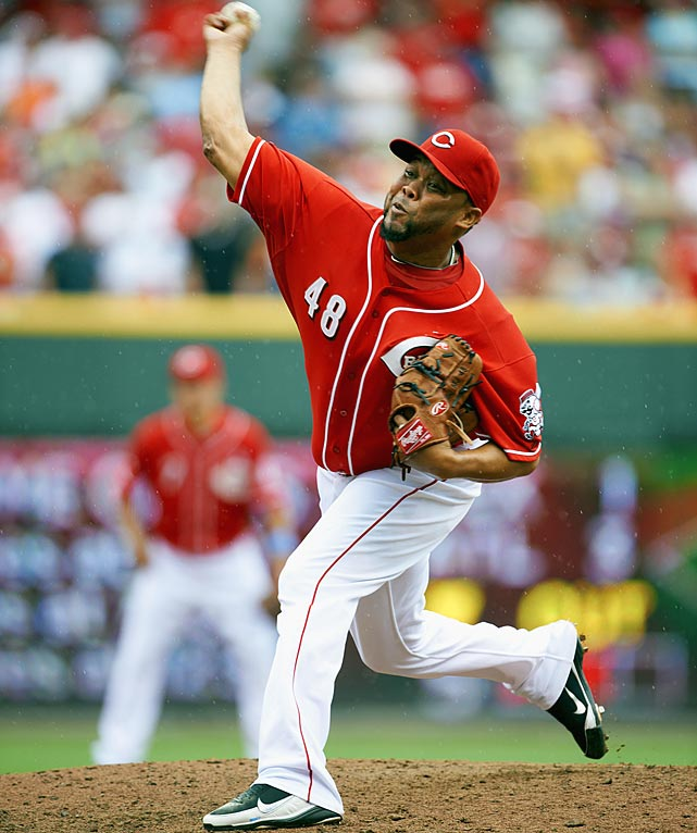 CURRENT TEAM:  REDS  BEST FIT:  REDS   It's rarely pretty, but Cordero simply gets the job done year after year. In his four seasons with the Reds, he has averaged 38 saves, while blowing an average of six chances. While his age and cratering strikeout rate (it has declined in four straight years) will conspire to preclude another four-year deal, there seems little reason for the two sides to part ways.