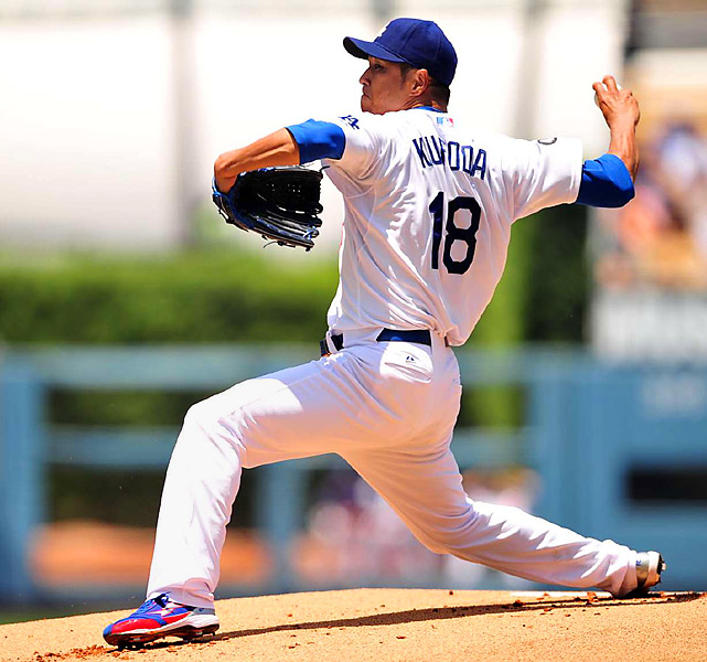 CURRENT TEAM:  DODGERS  BEST FIT:  DODGERS   Kuroda had the best of his four strong seasons with the Dodgers last season, in terms of wins, ERA and innings pitched, and he would be a welcome presence on any staff. Just like last year, however, Kuroda has indicated that he desires to pitch only for the Dodgers or in Japan -- and the Dodgers are likely to do all they can to keep a quality player who actually wants to play for them from walking away.