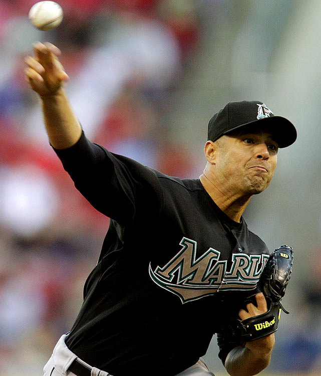 CURRENT TEAM:  MARLINS  BEST FIT:  MARLINS   Vazquez seemed headed for certain retirement as late as June 11, when his ERA, after 13 starts, stood at 7.09. After that, though, he went on a tear, and allowed more than three earned runs in just one of his final 19 outings. Vazquez might still retire, but if he doesn't he should end up back with the Marlins, who will be playing in a new ballpark, will have their rotation bolstered by the return of injured ace Josh Johnson and who could contend in the N.L. East.