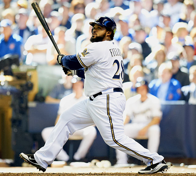 "CURRENT TEAM:  BREWERS  BEST FIT:  CUBS   Fielder didn't exactly bid adieu to Milwaukee after the Brewers' NLCS elimination, but there was a lot of past tense in his final press conference. ""Playing here was awesome,"" he said. The burly young slugger could move to the Cubs, who are starved for offense -- their 654 runs in 2011 were their fewest since the strike-shortened 1994 season. Fielder would become the face of new GM Theo Epstein's top-to-bottom rebuilding effort."