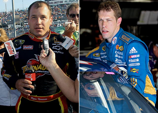 "Curiously, NASCAR doled out ""secret fines"" to drivers this year for incidents that happened off the racetrack. Ryan Newman was fined $50,000 for punching out Juan Pablo Montoya at Darlington in May. In early November, Brad Keselowski criticized NASCAR's upcoming move to fuel injection and that earned the Penske Racing driver a fined believed to be $25,000. NASCAR chairman Brian France defended the covert fines, comparing it to a restaurant owner who criticizes the food losing customers. France doesn't want any of the drivers criticizing NASCAR. Last year, Denny Hamlin was fined for critical comments he made on Twitter."