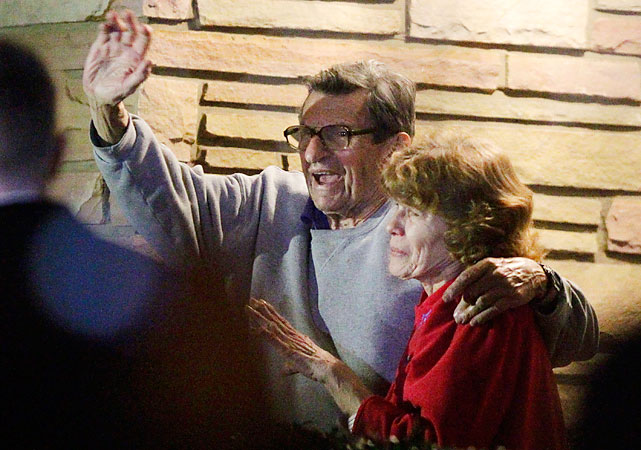 Joe Paterno was fired, effective immediately, by the Penn State Board of Trustees on Wednesday night. Here is a look at the reaction in State College to the news as well as the last few days.
