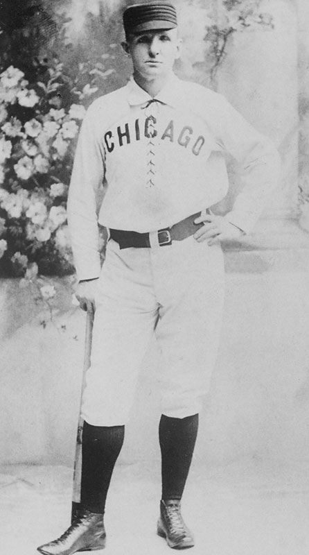 Anson started his career with the Rockford Forest Citys and played four seasons for the Philadelphia Athletics before becoming a White Stocking. The Hall of Fame first baseman played a record 27 consecutive seasons, the final 22 with the Chicago franchise.