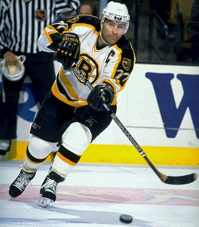 Bourque won a Stanley Cup with the Colorado Avalanche in 2001 and waited longer than any other NHL champion to hold the Cup over his head. The long-time Bruin leads all defensemen in goals, assists and points.