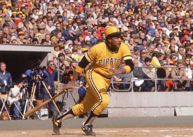 Stargell won two World Series with the Pirates, the only team for which he ever played professional baseball. In 1979 the Hall of Fame first baseman won the NL MVP, World Series MVP, Babe Ruth Award and NLCS MVP.