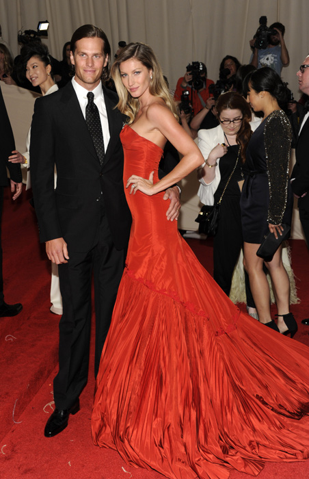"""<bold>""""I never realized how similar that I am to Tom Brady. I mean, the obvious physical appearance would be the first thing. The fact that he's married to a supermodel? Hello?"""" </bold> <italics>-- Nov. 2010, after Ryan's wife Michelle appeared in an ad for the NFL.com shop from InStyle magazine</italics>"""
