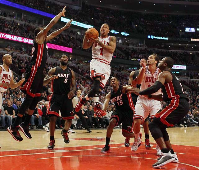 """(Derrick) Rose slithered around 7-foot walls, blistered defenses expressly designed to stop him, and conjured memories of the Jordan age in Chicago with his fourth-quarter flourishes. He won but also entertained, sparking a point-guard revolution in which the ball-handlers became the headliners. Rose transformed himself, and the Bulls, from upstarts to elites. That's why he won MVP, but only part of the reason I am nominating him for SI's Sportsman of the Year.""    Click here to read more."