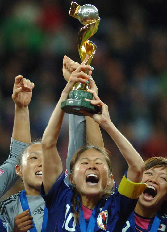 """Nothing could bring back the 25,000 dead or missing from the enveloping tidal waves that swept six miles inland, and little could recede the growing tension caused by the country's potential nuclear fallout. But after four months spent reeling from the destruction, a magical run by Japan's women's World Cup team shed light on the country for a reason other than tragedy.""  Click here to read more."