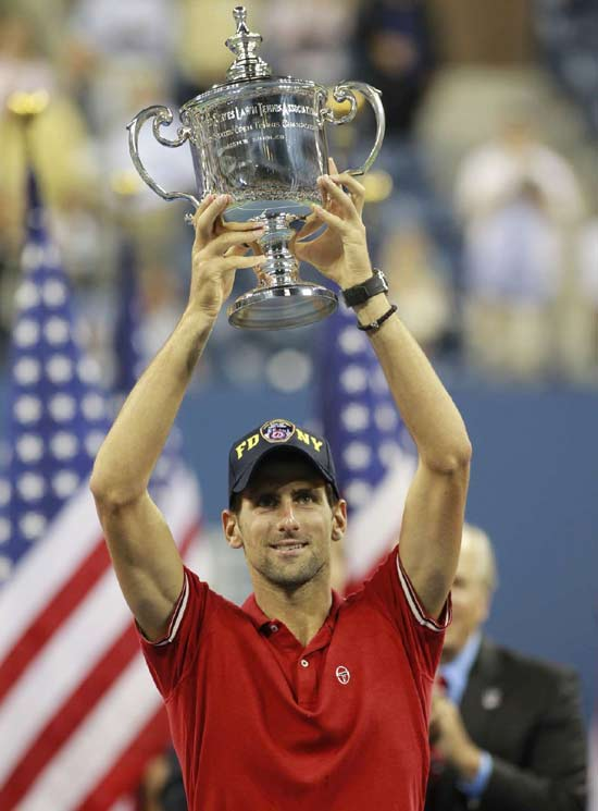 """What's made (Novak) Djokovic's year particularly incredible -- and made him particularly worthy of being named the 2011 Sportsman of the Year -- is the presence of the other two guys. Djokovic won on every surface, on four different continents. He's won in blowouts; he's won tight matches. But perhaps above all, he's done so with Federer and Nadal as contemporaries. In the past, when players have won relentlessly, the cynical response goes like this: 'Yeah, but who's his competition?' In Djokovic's case, you can hardly say that. He was 10-1 in 2011 against two of the best players ever to draw breath. And 60-5 against everyone else.""    Click here to read more."