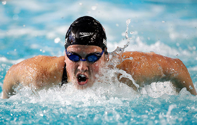 Kathleen Hersey swam to first place and an American record in the 200m butterfly, beating Elaine Breeden, former holder of the American record. Hersey also finished fourth in the 400m individual medley.
