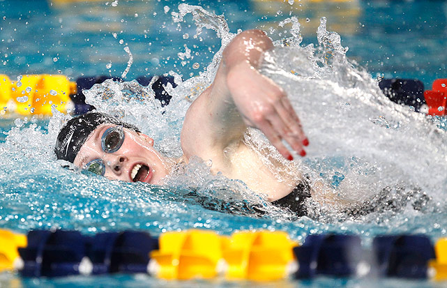 Missy Franklin topped the podium in the 200m backstroke and 200m freestyle, and grabbed bronze in the 100m backstroke. Franklin also swam a leg in both the 4x100m medley and 4x100m freestyle relays, which won gold and silver respectively.