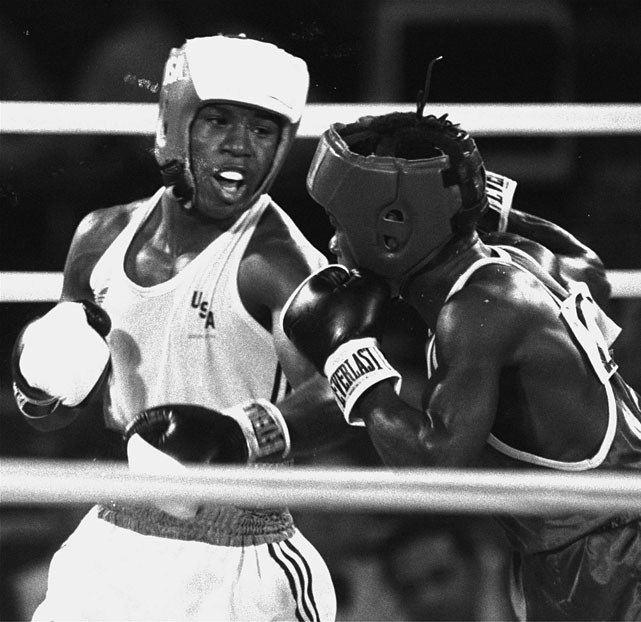 As the youngest member of a U.S. Olympic boxing team that captured 11 medals -- nine gold, one silver and one bronze -- the 17-year-old Taylor went on to a pro career that included titles at light welterweight and welterweight.