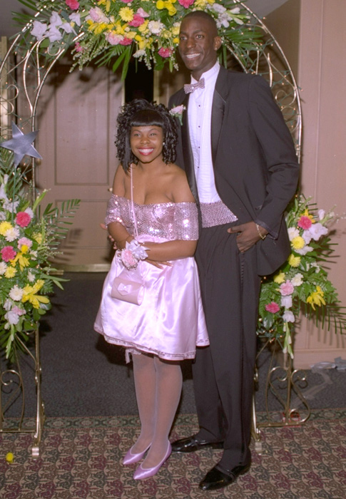 SI photographers were on hand when 17-year-old Kevin attended the prom with girlfriend Corlis Strongs. Garnett married Brandi Padilla in 2004 and the couple is still married.