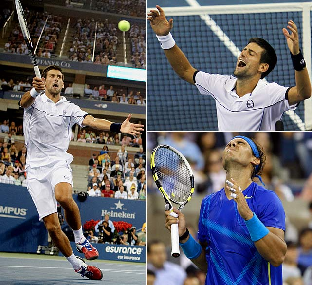 Djokovic improved to 6-0 in tournament finals against Nadal this year with a 6-2, 6-4, 6-7 (3), 6-1 victory. But the match that completed Djokovic's third Grand Slam title of 2011 was much tighter and more compelling than the scoreboard suggests. The third set took 84 minutes, one rally had 31 strokes and the rivals slugged it out from the baseline in what at times was a jaw-dropping display of shotmaking and movement.