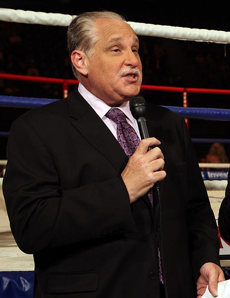 """I appreciate this very much. I'm actually kind of dumbstruck. Wow! I'm overwhelmed, really. (Hall of Fame broadcaster) Don Dunphy was a great mentor to me and a great idol. Just the thought of being in the same place as him is special. I'm very active in the sport of boxing and I have lots of things I'm looking forward to in the future and this is great because it validates the past, it validates being involved in the sport. I couldn't be more excited. One of the unique qualities of the Boxing Hall of Fame is the fact that it places an importance on those of us who aren't boxers but hopefully have added something to the sport."""