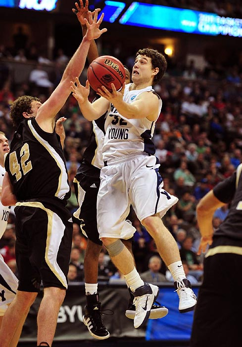 Fredette was something of a known commodity before the year, having averaged 22.1 points as a junior at BYU. But in 2011, he became a national phenomenon. The Jimmer was the country's most captivating player by a landslide, managing to score at will against defenses that were often focused exclusively on stopping him. He had three 40-point games in a three-week span in January and a career-high 52-point outing against New Mexico in the Mountain West tournament. The national player of the year is now a Sacramento King, the 10th pick in the NBA draft.