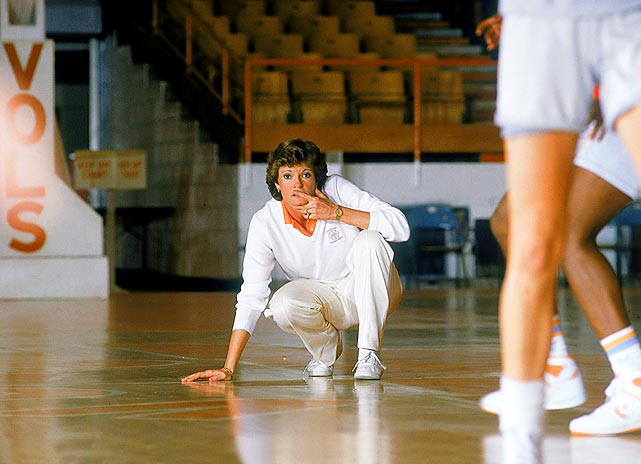 Pat Summitt notched her 300th coaching victory during the 1986-87 season, which ended with a 67-44 victory over Louisiana Tech for the Lady Vols' first national title.