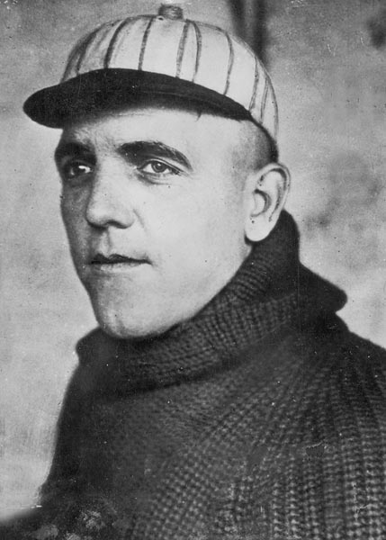 Veteran ace Eddie Cicotte (pictured) of the Chicago White Sox was 29-7 with a 1.82 ERA in 1919 before he became one of eight key figures in the infamous scandal that broke in September 1920 with widespread news reports of gambling in baseball. Cicotte admitted to a grand jury that month that he'd accepted $10,000 from gamblers to help fix the 1919 World Series in favor of Cincinnati. (He was 1-2 with a 2.91 ERA in 22 innings.) Cicotte and his conspirators were acquitted, then promptly banned from the game for life by Commissioner Kenesaw Mountain Landis.