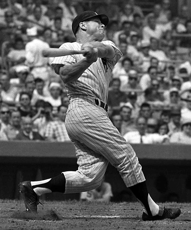 Revered Yankee icon Mickey Mantle was portrayed as a hard-drinking carouser by former teammate Jim Bouton in the 1970 book  Ball Four . Bouton's opus created a mushroom cloud of controversy over baseball's presumably squeaky-clean domain by becoming the first best-seller by an insider to reveal that major league players were mostly cretins. (Bouton was publicly chastised by Commissioner Bowie Kuhn and turned into a pariah.) Mantle later admitted to distasteful personality flaws fueled by his voracious thirst for alcohol. Even after his 1995 death, his dark side has lived on, most recently in a salacious, mostly fictitious book by Peter Golenbock.