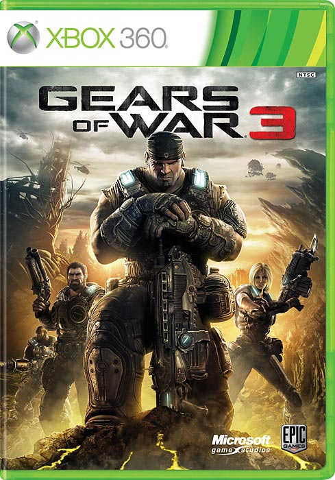 Gears of War 3 delivers a high-octane third-person shooter with a satisfying single player campaign and meaty multiplayer action.