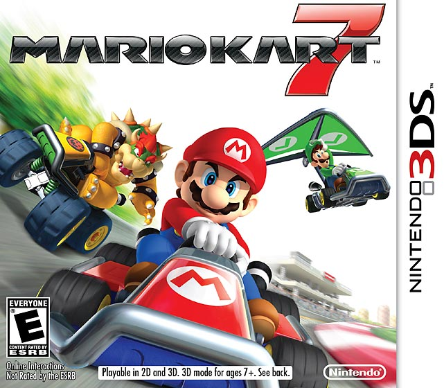 Mario's kart racing debut on the 3DS is a fun, fast and furious good time.