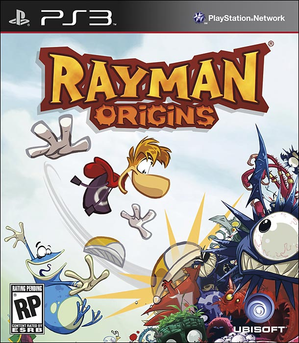 Rayman Origins offers amazing graphics and some of the most clever side-scrolling platform action we've seen in a long time.