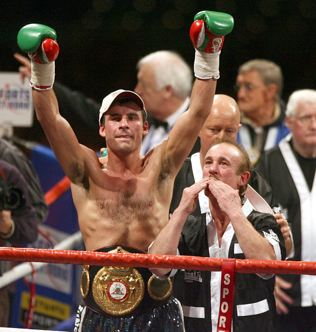 """The Pride of Wales,"" who spent 11 years defending his super middleweight titles before moving up to light heavyweight to defeat Bernard Hopkins and Roy Jones, walked away unbeaten with a mark of 44-0 with 32 knockouts."