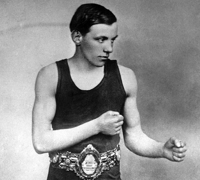 "Considered by many the greatest flyweight of all time, ""The Mighty Atom"" had a punch that belied his frail frame. He retired with a record of 137-4-2 with 100 knockouts."