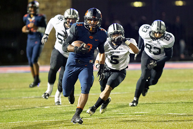If not for a three-point loss to Armwood on Aug. 26, Bishop Gorman may sit atop this list. The Gaels rattled off 15 consecutive victories to end the year, riding the stellar play of Shaquille Powell (2,427 rushing yards, 40 touchdowns) and Anu Solomon (2,770 passing yards, 41 touchdowns). Tony Sanchez also deserves due. Since his taking over as coach in 2009, Gorman is 32-3 with three Nevada Class 4A titles.