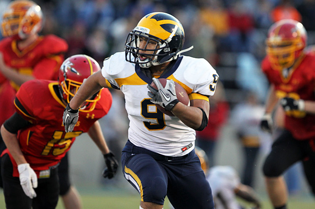 Previous rank:  13  Last game:  Beat O'Dea (Wash.), 35-16  Next game:  Season complete   All records through Dec. 5, 2011