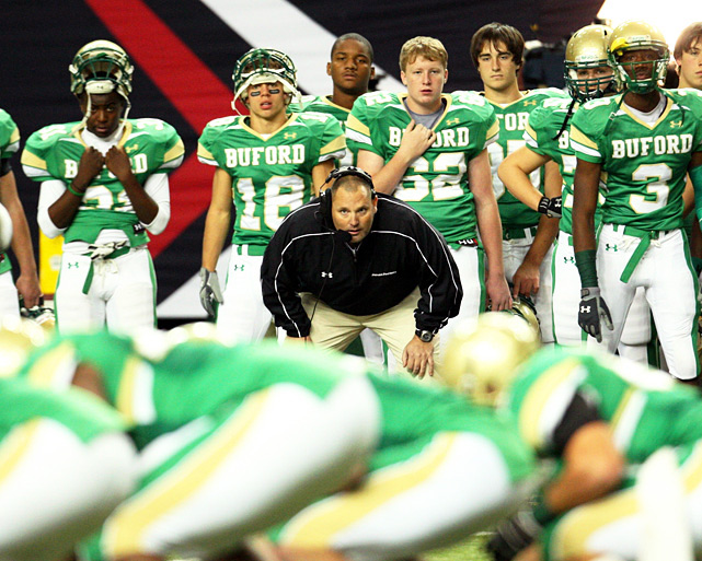 Previous rank:  8  Last game:  Beat Carver (Ga.), 28-13  Next game:  Dec. 9 vs. Calhoun (Ga.)   All records through Dec. 5, 2011