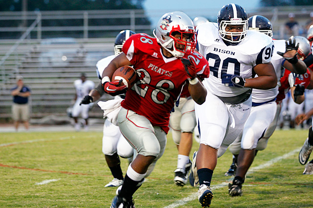 Previous rank:  15  Last game:  Beat Garner Magnet (N.C.), 35-21  Next game:  Season complete   All records through Dec. 5, 2011