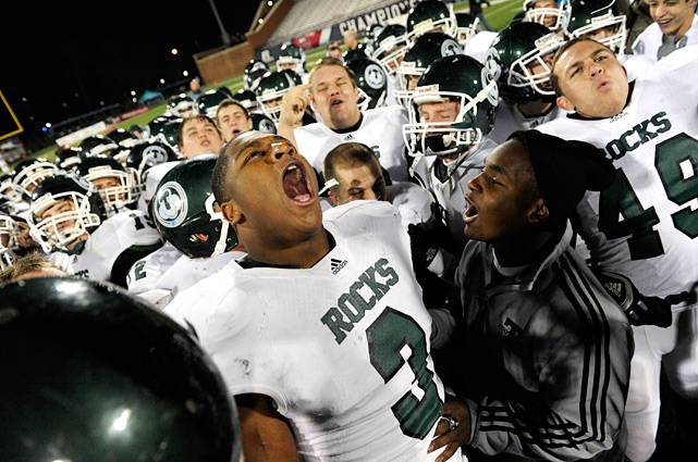 Previous rank:  1  Last game:  Beat Scott County (Ky.), 62-21  Next game:  Season complete   All records through Dec. 12, 2011