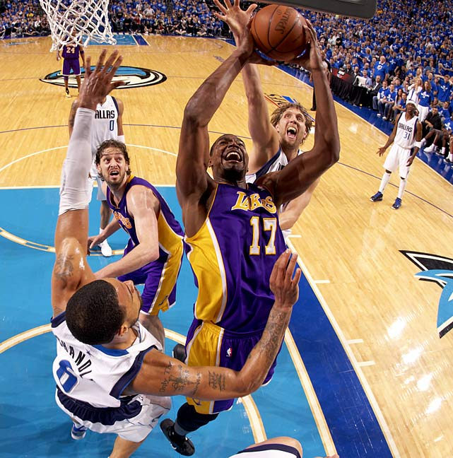 The Lakers' big man who was engrossed in trade rumors for Dwight Howard before the season started came out in full force, putting up some of the best numbers of his career. But Bynum's crankiness throughout the season may come back to haunt him.
