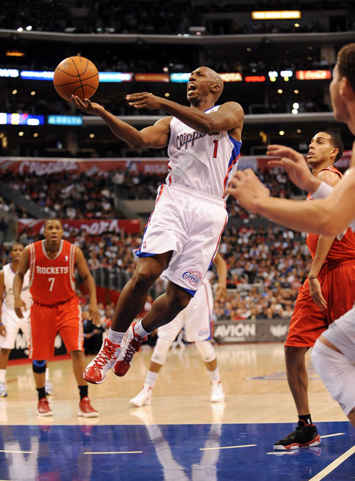The 35-year-old Billups said he was sick of getting bumped from team to team, but now that he's in L.A. with fellow new Clipper and close friend Chris Paul, he may finally be happy as CP3's backup. That is, once he's healthy. If not, he may be on the move again when free agency hits.