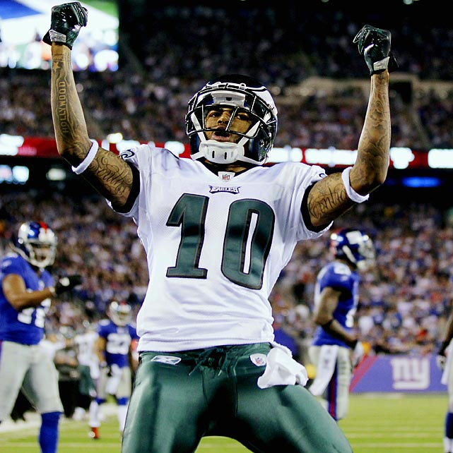 Jackson's punt return totals include a 65-yard touchdown against the New York Giants with 14 seconds left in the game to give the Eagles a 38-31 victory in 2010. It is the only game-winning punt return touchdown in NFL history.