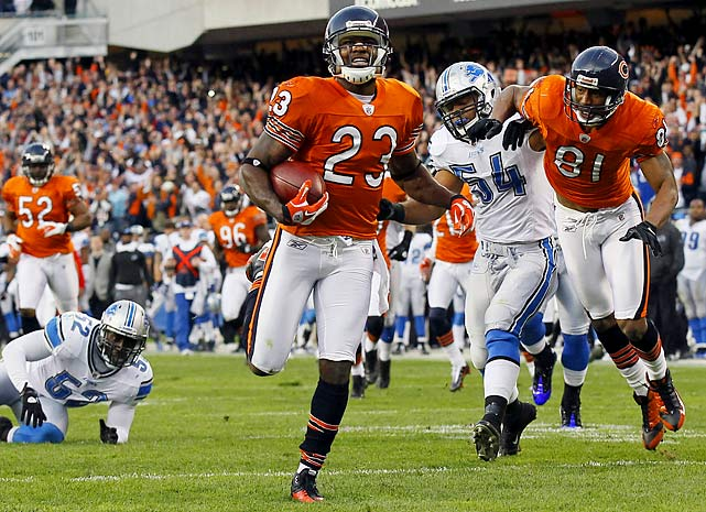 The Bears' prolific return man started his NFL career in 2006 and already holds the record for career combined kickoff and punt return touchdowns.