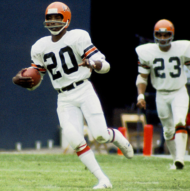 Parrish was a defensive back and return man in the NFL from 1970 to 1982. The former Bengal, Redskin and Bill played in eight Pro Bowls and was the 1979 Football Digest Defensive Back of the Year.